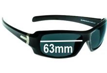 Spotters Unit Replacement Sunglass Lenses - 63mm Wide