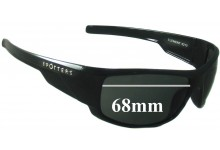 Spotters Element 0210 Replacement Sunglass Lenses  - 68mm wide