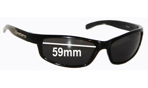 Spotters Hazard New Sunglass Lenses  - 59mm wide