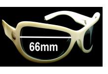 Spy Optics Bianca Replacement Sunglass Lenses - 66mm wide