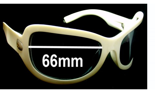 Spy Optics Bianca Replacement Sunglass Lenses - 66mm wide
