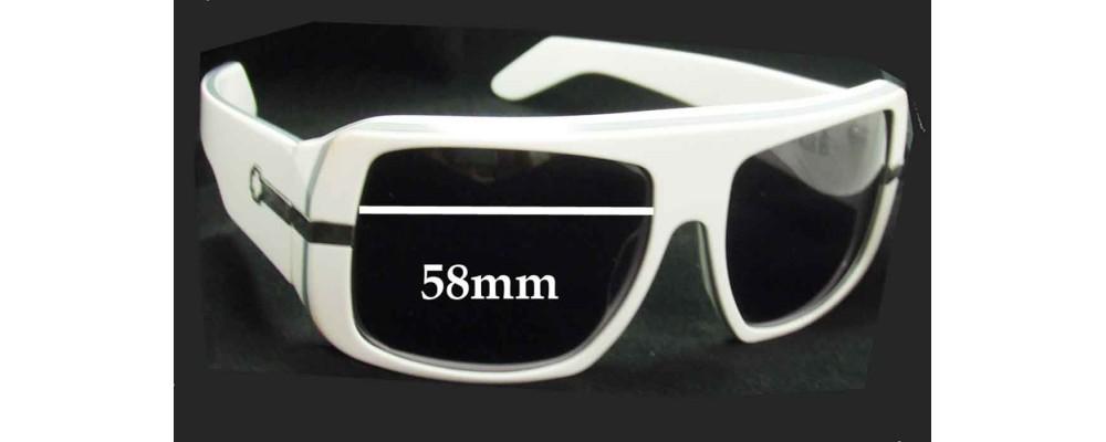 523470d44ae50 Spy Optics Double Decker Replacement Sunglass Lenses - 58mm Wide