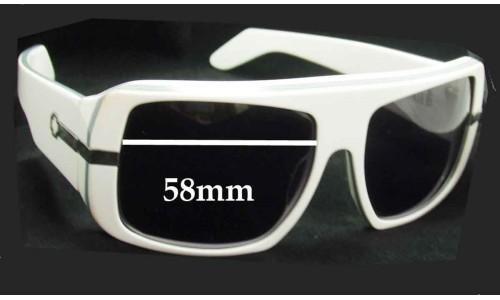 Spy Optics Double Decker New Sunglass Lenses - 58mm Wide