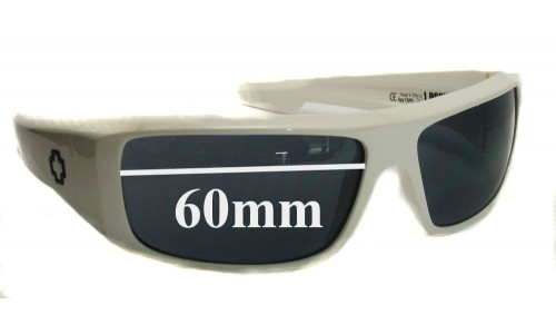 Spy Optics Logan Replacement Sunglass Lenses - 60mm