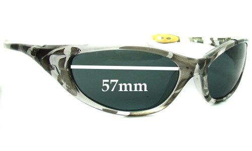 Spy Optics - M1 Micro Scoop Replacement Sunglass Lenses M1 - 57mm Wide