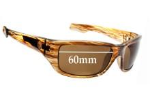 Spy Optics Nolen Replacement Sunglass Lenses - 60mm wide