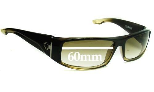 Spy Optics Cooper Replacement Sunglass Lenses - 60mm Wide