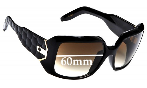 Spy Optics Eliza Replacement Sunglass Lenses - 60mm wide