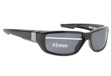 Spy Optics Dirty Mo Replacement Sunglass Lenses - 61mm Wide