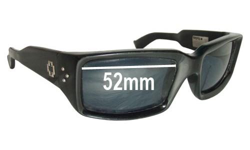 Spy Optics Glace Replacement Sunglass Lenses - 52mm Wide