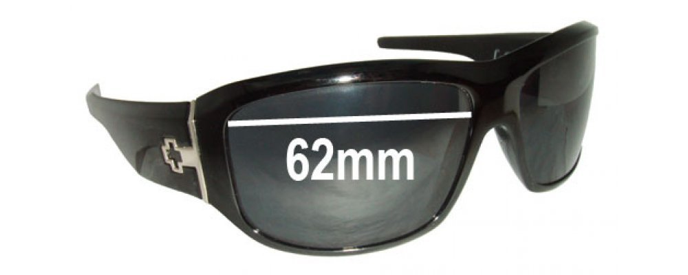 4816850459 Spy Optics Lacrosse Replacement Sunglass Lenses - 62mm wide