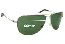 Spy Optics Wilshire Replacement Sunglass Lenses - 66mm Wide
