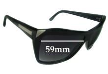 Stella McCartney SM4015 Replacement Sunglass Lenses - 59mm wide