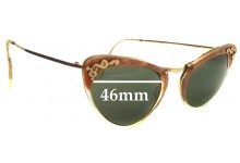 Trident 2.0 Replacement Sunglass Lenses - 46mm wide