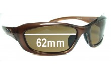 Ugly Fish Model P6558 Replacement Sunglass Lenses - 62mm Wide