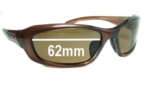 Ugly Fish Model P6558 New Sunglass Lenses - 62mm Wide