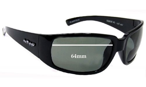 Ugly Fish High Tide Replacement Sunglass Lenses - 64mm Wide