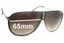 Sunglass Fix New Replacement Lenses for Versace MOD 4165 - 65mm Wide