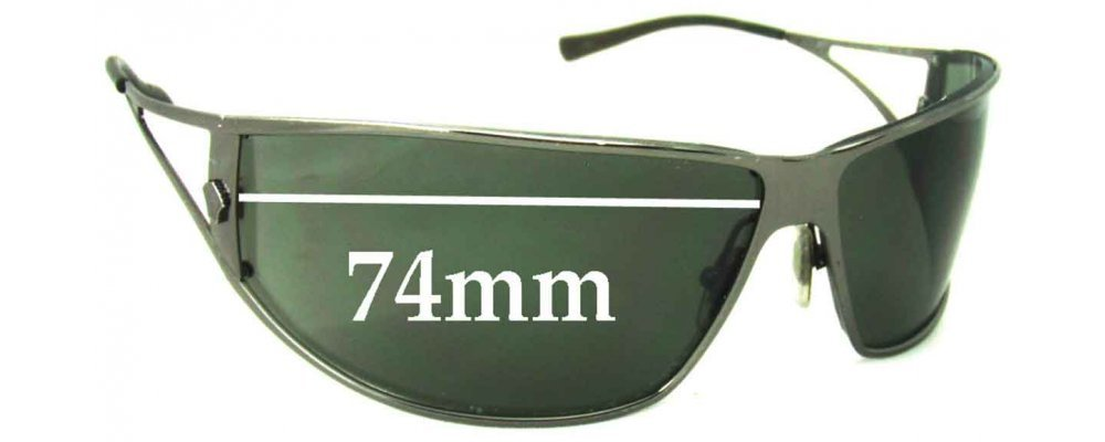 0ab09eff65ec Sunglass Fix Replacement Lenses for Versace MOD 2040 - 74mm Wide