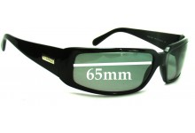 Sunglass Fix New Replacement Lenses for Versace MOD 4012 - 65mm Wide