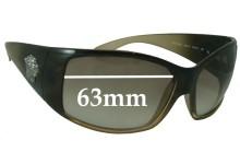 Versace MOD 4055 Replacement Sunglass Lenses - 63mm Wide