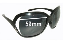 Sunglass Fix New Replacement Lenses for Versace MOD 4114 - 59mm Wide