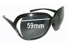 Versace MOD 4114 Replacement Sunglass Lenses - 59mm Wide