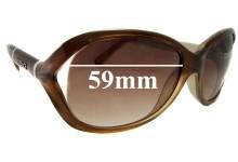 Versace MOD 4186 Replacement Sunglass Lenses - 59mm Wide