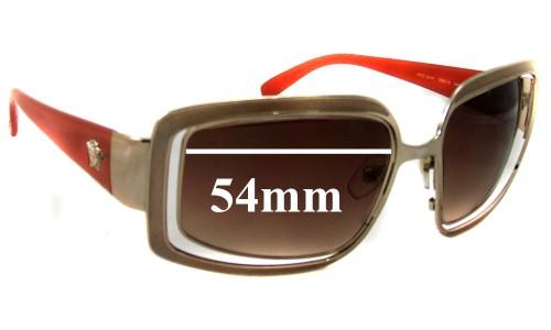 Versace MOD 2044 Replacement Sunglass Lenses - 54mm Wide