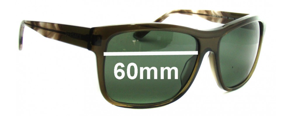 15c43519cb6 Versace MOD 4179 Replacement Lenses - 60mm Wide