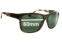 Sunglass Fix New Replacement Lenses for Versace MOD 4179 - 60mm Wide