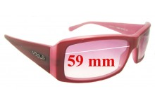 Vogue VO2419-S Replacement Sunglass Lenses - 59mm Wide