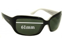Sunglass Fix Replacement Lenses for Vogue VO2473-S - 61mm Wide