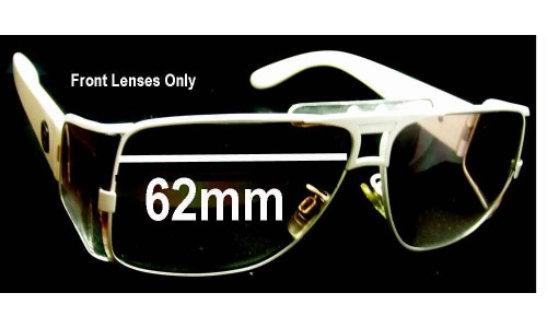Von Zipper Brooklyn Replacement Sunglass Lenses - 62mm