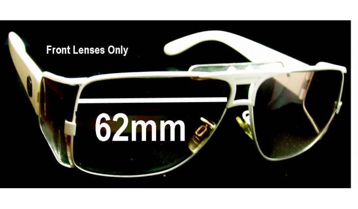 SFX Replacement Sunglass Lenses fits Von Zipper Brooklyn 62mm