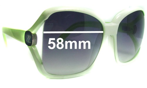 Von Zipper Dharma New Sunglass Lenses - 58mm wide