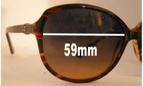Von Zipper Jezebel Replacement Sunglass Lenses - 59mm