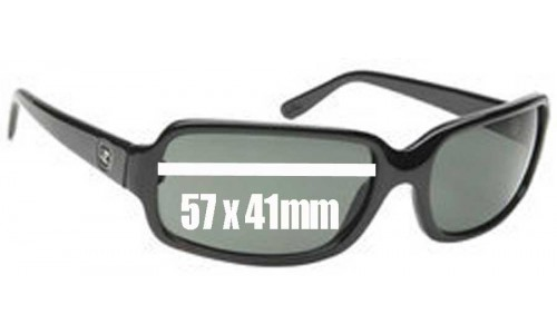 Von Zipper Lita New Sunglass Lenses - 57mm wide by 41mm tall