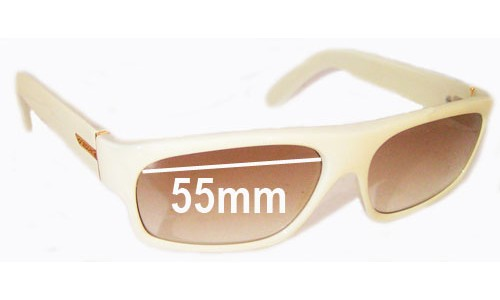 Von Zipper Monterey Replacement Sunglass Lenses - 55m wide