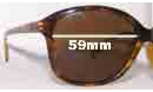 Von Zipper Runaway Replacement Sunglass Lenses - 59mm