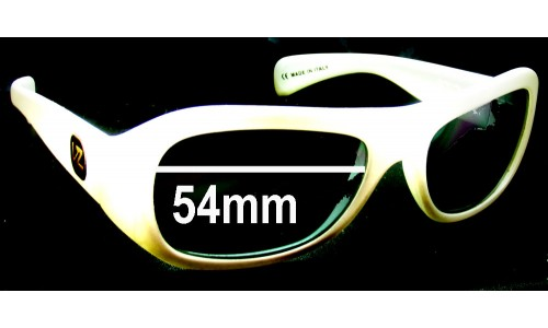 Von Zipper Solow Replacement Sunglass Lenses - 54mm Wide