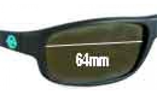 Vuarnet 4120 Replacement Sunglass Lenses - 64mm Wide