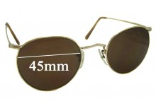 Algha 20 Vintage Replacement Sunglass Lenses - 45mm Wide