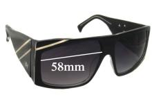 AM Eyewear Karslbro Sunglass Replacement Lenses - 58mm Wide
