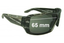 Arnette Big Deal AN4168 Replacement Sunglass Lenses - 65mm Wide