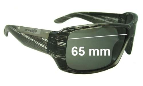 Arnette Big Deal AN4168 Replacement Sunglass Lenses - 65mm Wide