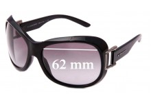 Burberry BE 4048 Replacement Sunglass Lenses - 62mm Wide