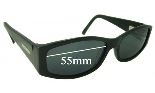Bill Bass Clair Replacement Sunglass Lenses - 55mm wide