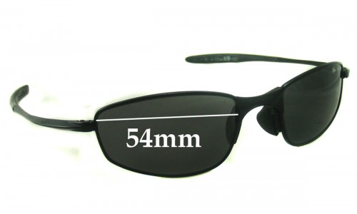 Bolle Meanstreak 70007 Replacement Sunglass Lenses - 54mm wide