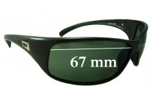 5a8205f73f Bolle Recoil 10403 Replacement Sunglass Lenses - 67mm wide